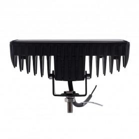 JCBFARA Lampu LED Spot Flood Mobil Truck ATV 18W - DRL18W - Black - 3