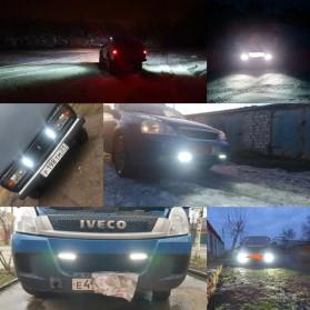 JCBFARA Lampu LED Spot Flood Mobil Truck ATV 18W - DRL18W - Black - 5