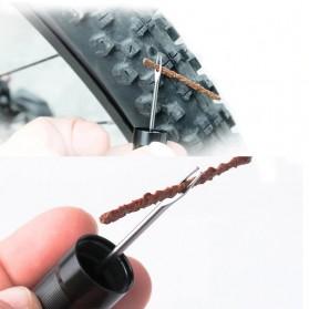 MUQZI Alat Tambal Ban Sepeda Tire Repair Tool With Rubber Strip 5PCS - MQ10 - Black - 2