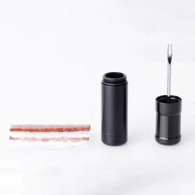 MUQZI Alat Tambal Ban Sepeda Tire Repair Tool With Rubber Strip 5PCS - MQ10 - Black - 5