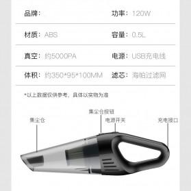 OTOHEROES Handheld Vacuum Cleaner Penyedot Debu Mobil 120W 12V - CVC200 - Black - 4