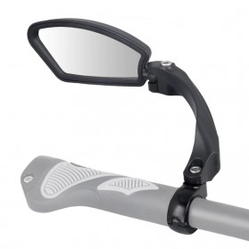 HAFNY Kaca Spion Sepeda Bike Blindspot Rearview Mirror 1 PCS - HF-MR080 - Black