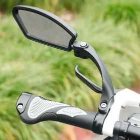 HAFNY Kaca Spion Sepeda Bike Blindspot Rearview Mirror 1 PCS - HF-MR080 - Black - 2