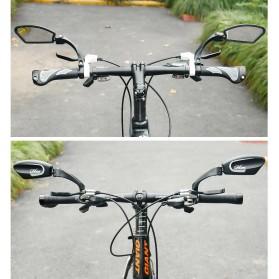 HAFNY Kaca Spion Sepeda Bike Blindspot Rearview Mirror 1 PCS - HF-MR080 - Black - 5
