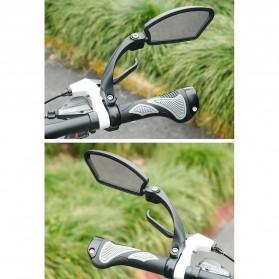 HAFNY Kaca Spion Sepeda Bike Blindspot Rearview Mirror 1 PCS - HF-MR080 - Black - 6