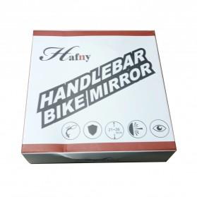 HAFNY Kaca Spion Sepeda Bike Blindspot Rearview Mirror 1 PCS - HF-MR080 - Black - 8