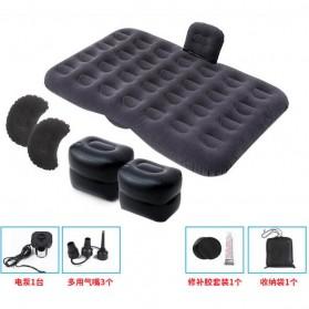Athenaegis Kasur Matras Angin Mobil Travel Inflatable Bed 135 x 80 cm - A44 - Black - 2