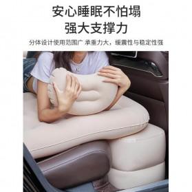 Athenaegis Kasur Matras Angin Mobil Travel Inflatable Bed 135 x 80 cm - A44 - Black - 5