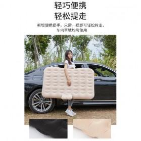 Athenaegis Kasur Matras Angin Mobil Travel Inflatable Bed 135 x 80 cm - A44 - Black - 6