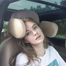 HOYOO Side Headrest Pillow Sandaran Kepala Kursi Bantal Mobil Cover Mesh - HY33 - Black - 7