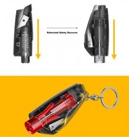 Tao Hua Yuan Pemecah Kaca Mobil Safety Glass Breaker Seat Belt Cutter - CS-B12 - Black - 2