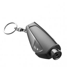 Tao Hua Yuan Pemecah Kaca Mobil Safety Glass Breaker Seat Belt Cutter - CS-B12 - Black - 7