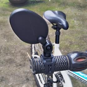 GTUBIKE Kaca Spion Sepeda Bike Blindspot Rearview 1PCS - YQ098 - Black - 7