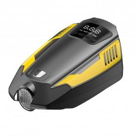 Carzkool Pompa Ban Portable Air Compressor 12V - ATJ-1466 - Black/Yellow - 2
