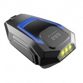 Kompresor Angin - Carzkool Pompa Ban Portable Air Compressor 12V - CZK-3605 - Black