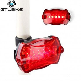 GTUBIKE Lampu Belakang Sepeda LED Bicycle Tail Light - 164 - Red