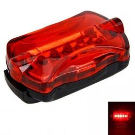 GTUBIKE Lampu Belakang Sepeda LED Bicycle Tail Light - 164 - Red - 2