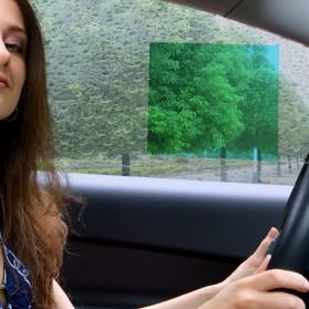 MOVEO Sticker Anti Fog Spion Mobil Waterproof Car Clear Film 20 x 24 cm 2 PCS - 17877 - 3
