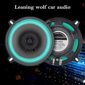 Onever Speaker Subwoofer Mobil HiFi 5 Inch 100W 1 PCS - SH-502 - Black/Blue