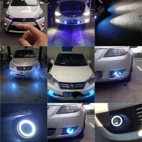 IPS Lampu Mobil Kabut Angel Eyes Fog Lamp Fisheye COB LED 76mm 12V - M609 - White - 3