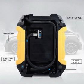 Carsun Inflator Pompa Angin Ban Mobil Car Compressor 80W - C1399-1 - Black/Yellow - 3
