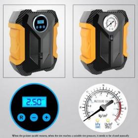 Carsun Inflator Pompa Angin Ban Mobil Car Compressor 80W - C1399-1 - Black/Yellow - 5
