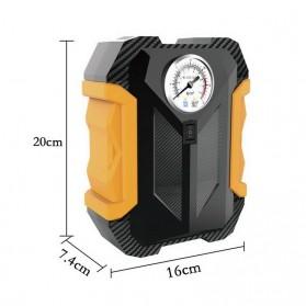 Carsun Inflator Pompa Angin Ban Mobil Car Compressor 80W - C1399-1 - Black/Yellow - 6