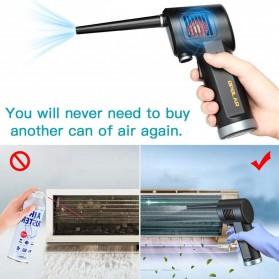 ATENGE Air Duster Blower USB Rechargeable 6000mAh - CD02 - Black - 3