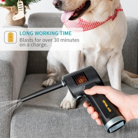 ATENGE Air Duster Blower USB Rechargeable 6000mAh - CD02 - Black - 4