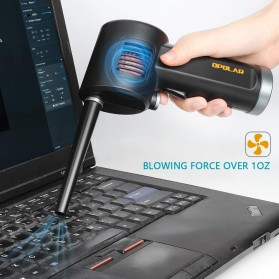 ATENGE Air Duster Blower USB Rechargeable 6000mAh - CD02 - Black - 6