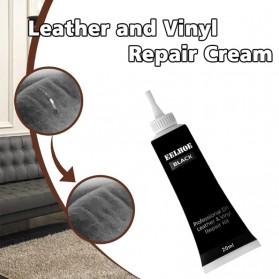 EELHOE Cream Reparasi Kulit Mobil Car Leather Filler Repair Liquid 20ml - G-919 - Black