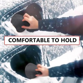Arsmundi Alat Pembersih Salju Kaca Mobil Snow Shovels Car Magic Window Scraper - CGA32 - Black - 3