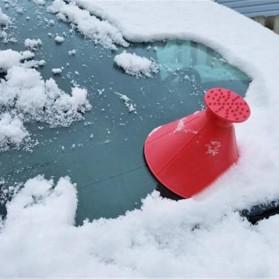 Arsmundi Alat Pembersih Salju Kaca Mobil Snow Shovels Car Magic Window Scraper - CGA32 - Black - 5