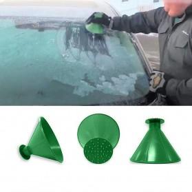 Arsmundi Alat Pembersih Salju Kaca Mobil Snow Shovels Car Magic Window Scraper - CGA32 - Black - 6