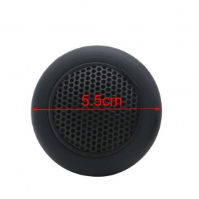 Adeeing Speaker Tweeter Mobil HiFi 55mm 10W 2 PCS - TU-412 - Black - 5