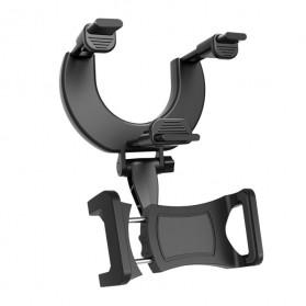 INIU Car Holder Smartphone Spion Mobil Rearview Bracket - OU30 - Black - 2