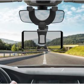 INIU Car Holder Smartphone Spion Mobil Rearview Bracket - OU30 - Black - 3