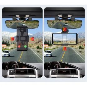 INIU Car Holder Smartphone Spion Mobil Rearview Bracket - OU30 - Black - 4