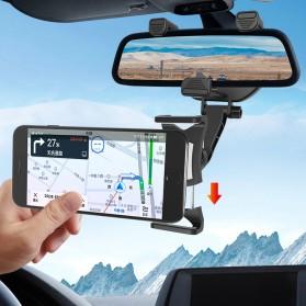 INIU Car Holder Smartphone Spion Mobil Rearview Bracket - OU30 - Black - 5