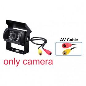 GreenYi Kamera Belakang Mobil Car Rearview Camera 18 LED Nightvision - S13 - Black