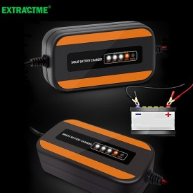E-FAST Charger Aki Mobil Lead Acid Smart Battery Charger 12V 2A 20AH - ZYX-Y10 - Black