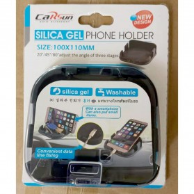 CARSUN Car Holder Dashboard Silicone - C6115 - Black - 6