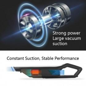 SUNSKY Handheld Vacuum Cleaner Penyedot Debu Mobil Wired 3200Pa - A-021 - Black - 2