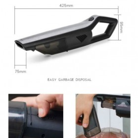 SUNSKY Handheld Vacuum Cleaner Penyedot Debu Mobil Wireless 4300Pa - A-021 - Black - 3