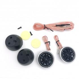 MUSICSOUL Speaker High Frequency Dome Tweeter Loudspeaker Mobil HiFi 130W 2 PCS - TP-066 - White - 2