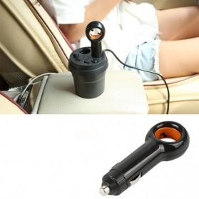GISAEV Pembersih Udara Mobil Air Purifier with Car Ozonizer Ionizer - EP501 - Black