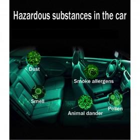 GISAEV Pembersih Udara Mobil Air Purifier with Car Ozonizer Ionizer - EP501 - Black - 4