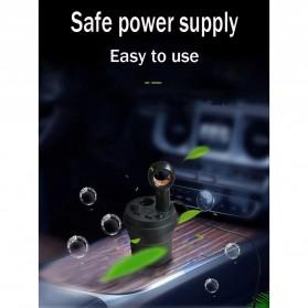 GISAEV Pembersih Udara Mobil Air Purifier with Car Ozonizer Ionizer - EP501 - Black - 5