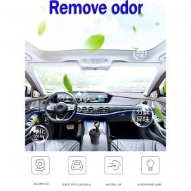 GISAEV Pembersih Udara Mobil Air Purifier with Car Ozonizer Ionizer - EP501 - Black - 6
