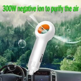GISAEV Pembersih Udara Mobil Air Purifier with Car Ozonizer Ionizer - EP501 - Black - 9